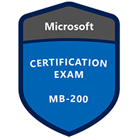 Exam MB-200 Microsoft Dynamics 365 Customer Engagement Core Badge