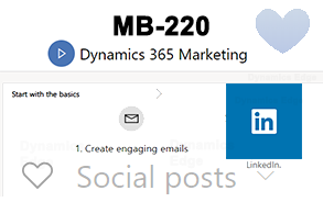 22000 MB-220 Dynamics 365 for Marketing Training