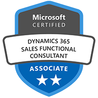Business Applications Microsoft Certified Dynamics 365 Sales Functional Consultant Associate Exam MB-210 Microsoft Dynamics 365 for Sales
