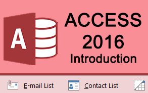 Access 2016 Introduction