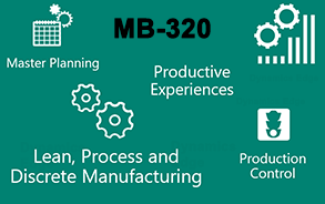 MB-320: Dynamics 365 for Finance and Operations Manufacturing