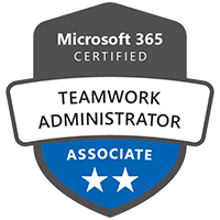 Modern Workplace Teamwork Administrator Associate Badge Exams MS-300 Deployment MS-300 Deploying Microsoft 365 Teamwork