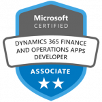 Dynamics-365-Finance-and-Operations-Apps-Developer-Certification-Training
