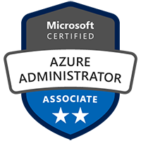 Azure Administrator Certification Badge Exam AZ-103 Microsoft Azure Role Based Certification Training Azure Administration Certification Training