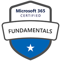 Modern Workplace Microsoft 365 Fundamentals Badge Path Fundamentals Exam MS-900 / Course MS-900T01