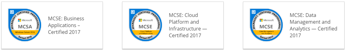 Dynamics Edge Microsoft MCSE Microsoft Certified Solutions Expert Certification Training