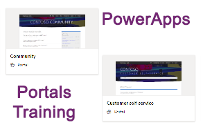 712891 PowerApps Portals Training Customization Management Course