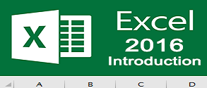 Excel 2016 Introduction