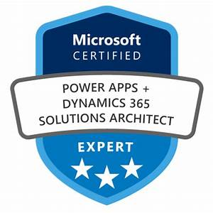 PowerApps + Dynamics 365 Solution Architect