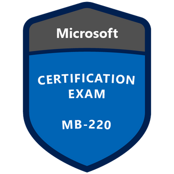 Badge Exam MB-220