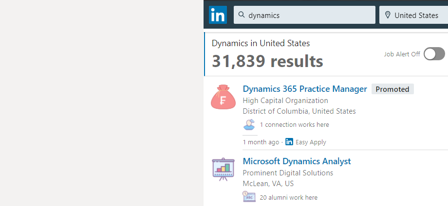 Dynamics 365 Job Training